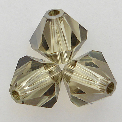Swarovski 5301 3mm Bicone Beads Jonquil Satin