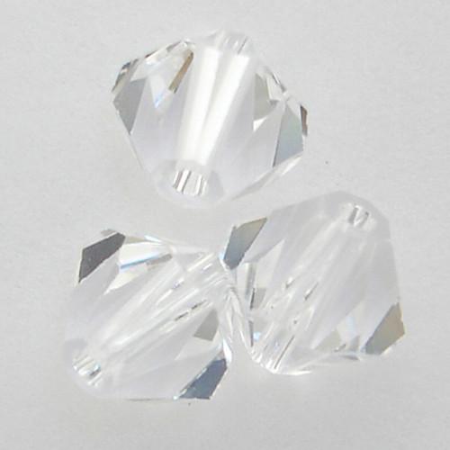 Swarovski 5328 4mm Xilion Bicone Beads Crystal