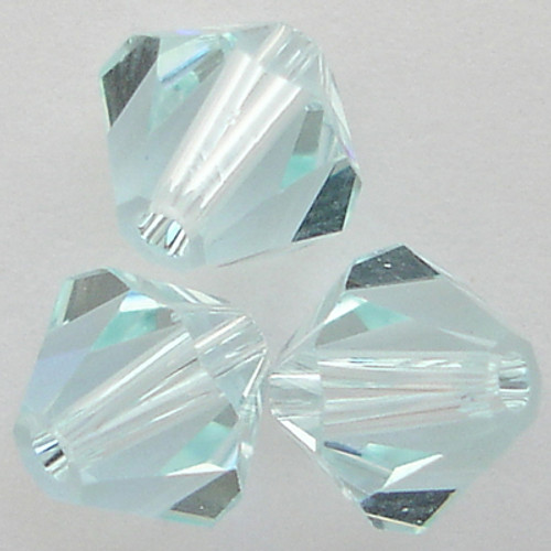 Swarovski 5328 4mm Xilion Bicone Beads Light Azore