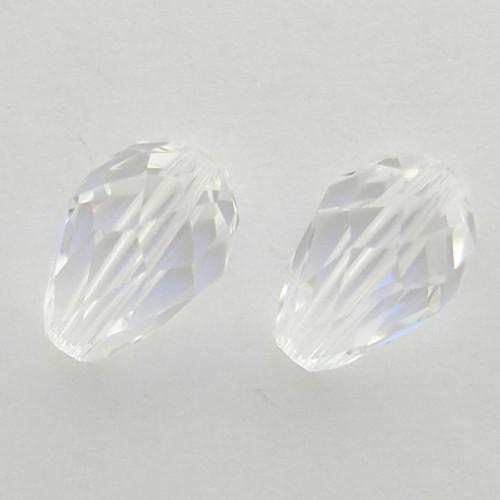 Swarovski 5500 9mm Pearshape Beads Crystal