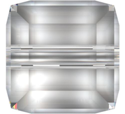 Swarovski 5601 4mm Cube Beads Light Grey Opal