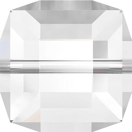Swarovski 5601 8mm Cube Beads Crystal