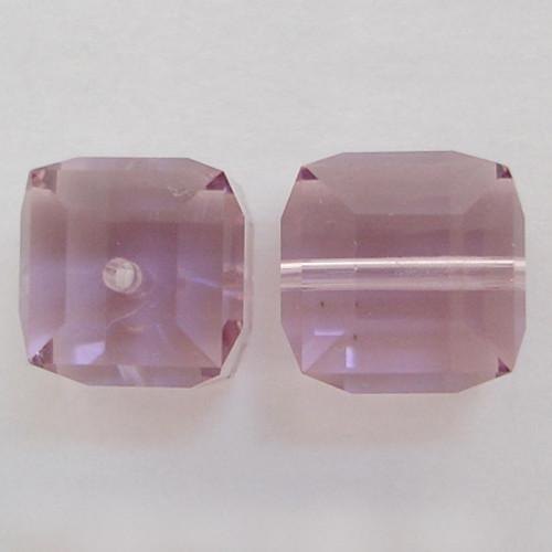Swarovski 5601 8mm Cube Beads Light Amethyst