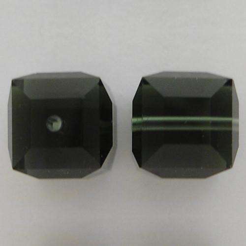 Swarovski 5601 8mm Cube Beads Morion