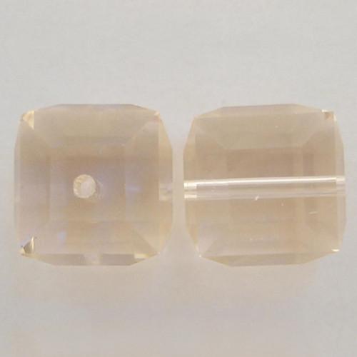 Swarovski 5601 8mm Cube Beads Silk