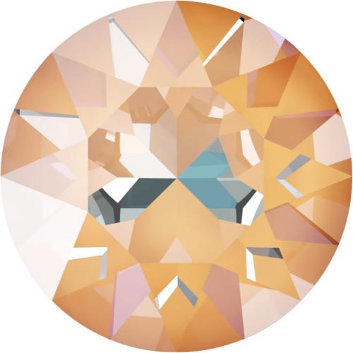 1088 Xirius Round Stones 39ss Crystal Peach DeLight