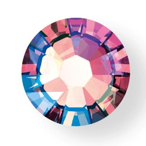 2058 & 2088 Flatback 9ss Light Rose Shimmer