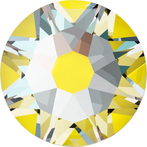 2038 & 2078 Flatback Hot Fix 16ss Crystal Sunshine DeLight Hot Fix