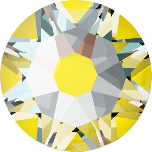 2038 & 2078 Flatback Hot Fix 34ss Crystal Sunshine DeLight Hot Fix