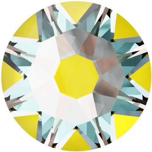 2058 & 2088 Flatback 12ss Crystal Sunshine DeLight