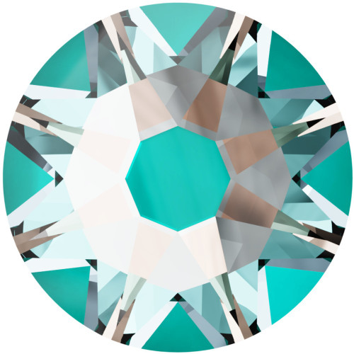 2058 & 2088 Flatback 16ss Crystal Laguna DeLight