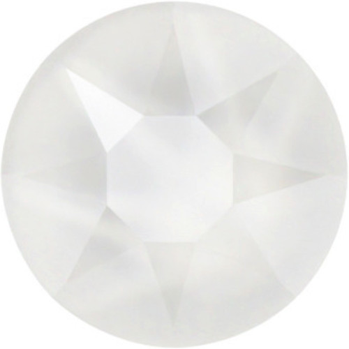 2058 & 2088 Flatback 30ss Crystal Electric White Lacquer Pro Effect