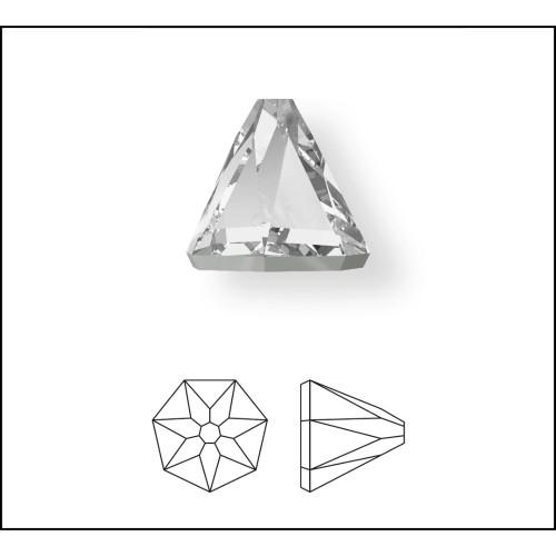 2019 Round Spike Flatbacks 5mm Crystal AB