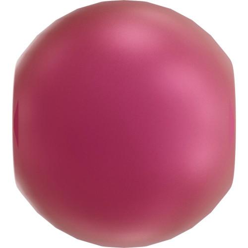 Swarovski 5810 6mm Round Pearls Mulberry Pink (100  pieces)