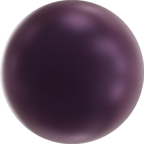On Hand: Swarovski 5810 8mm Round Pearls Elderberry (50  pieces)