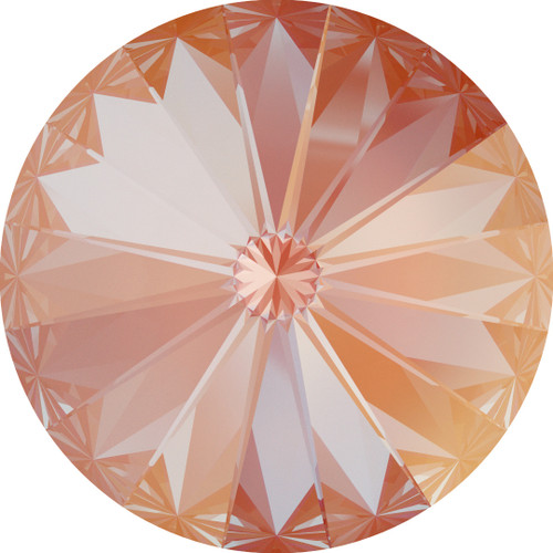 Swarovski 1122 12mm Xilion Round Stones Crystal Orange Glow Delite