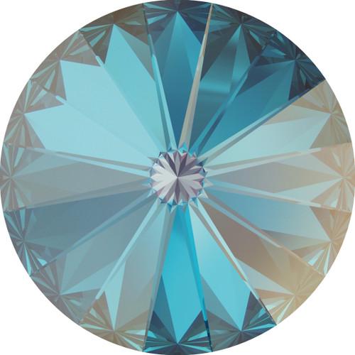 Swarovski 1122 12mm Xilion Round Stones Crystal Royal Blue Delite