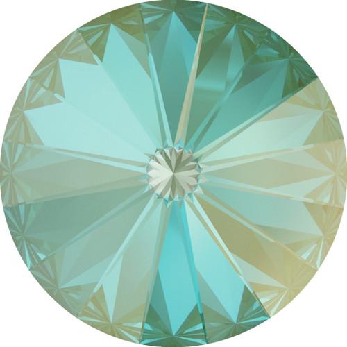 Swarovski 1122 12mm Xilion Round Stones Crystal Silky Sage Delite