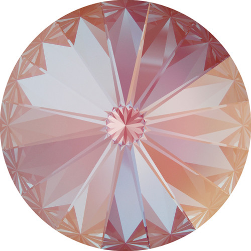 Swarovski 1122 14mm Xilion Round Stones Crystal Lotus Pink Delite