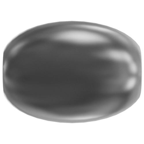 Swarovski 5824 4mm Rice Pearls Dark Grey