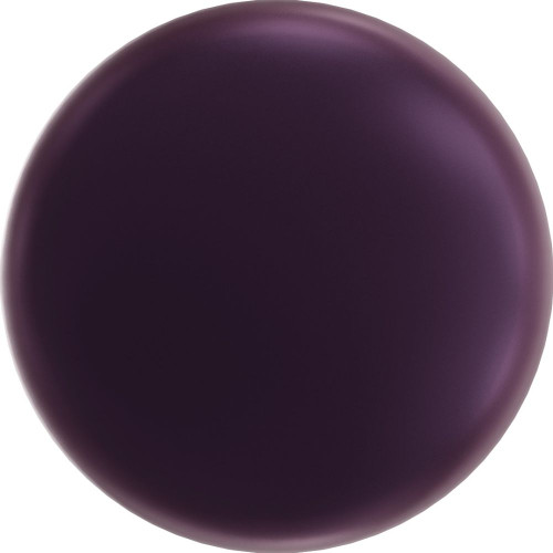 Swarovski 5860 10mm Crystal Coin Pearl Elderberry