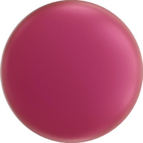 Swarovski 5860 12mm Crystal Coin Pearl Mulberry Pink