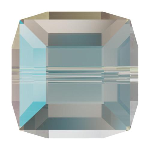Swarovski 5601 6mm Cube Beads Crystal Shimmer
