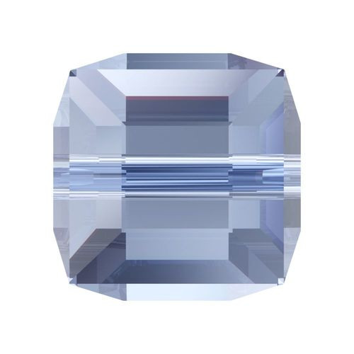 Swarovski 5601 8mm Cube Beads Light Sapphire (96 pieces)