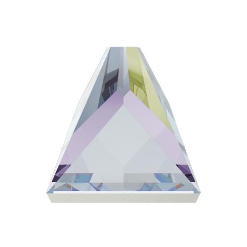 Swarovski 2419 4mm Square Spike Flatbacks Crystal AB Hot Fix