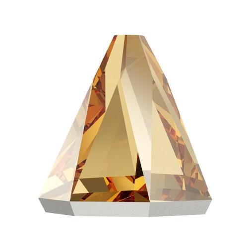 Swarovski 2019 5mm Round Spike Flatbacks Crystal Golden Shadow Hot Fix