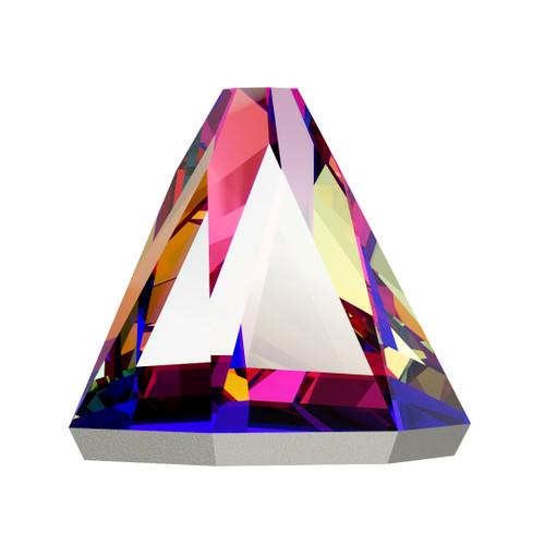 Swarovski 2019 5mm Round Spike Flatbacks Crystal Volcano Hot Fix
