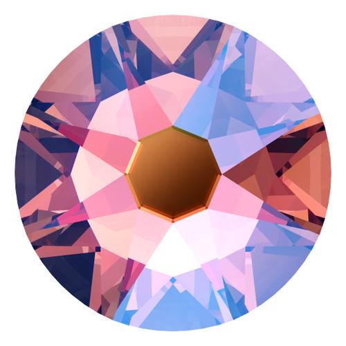 Swarovski 2088 16ss Xirius Flatback Rose Peach Shimmer