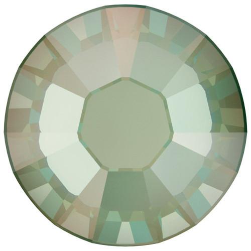 Swarovski 2088 20ss Xirius Flatback Crystal Silky Sage Delite