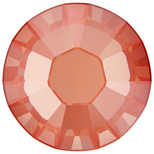 Swarovski 2088 30ss Xirius Flatback Crystal Orange Glow Delite