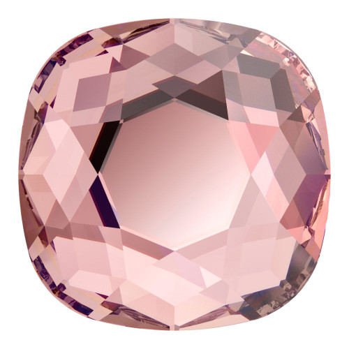 Swarovski 2471 10mm Cushion Cut Flatback Vintage Rose