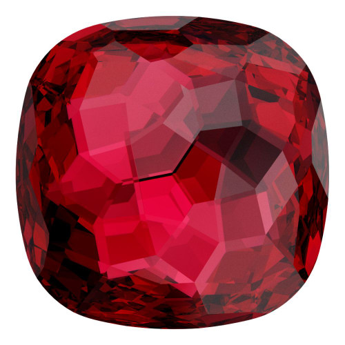 Swarovski 4483 10mm Fantasy Cushion Cut Fancy Stones Scarlet