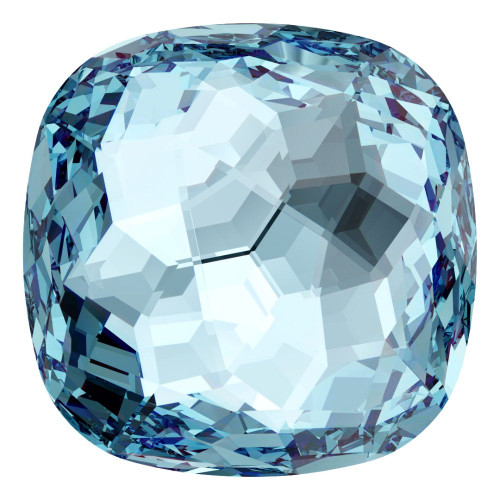 Swarovski 4483 12mm Fantasy Cushion Cut Fancy Stones Aquamarine