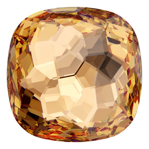 Swarovski 4483 12mm Fantasy Cushion Cut Fancy Stones Light Colorado Topaz