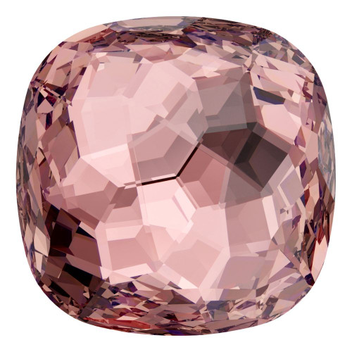 Swarovski 4483 12mm Fantasy Cushion Cut Fancy Stones Vintage Rose
