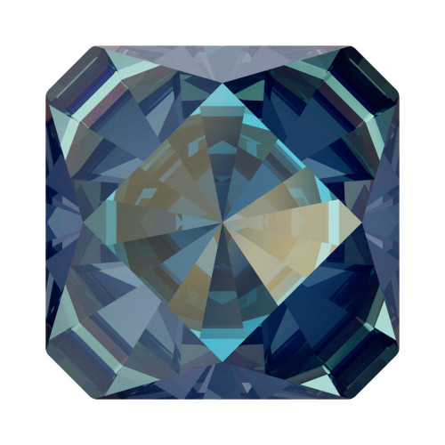 Swarovski 4499 10mm Kaleidoscope Square Fancy Stones  Crystal Royal Blue Delite