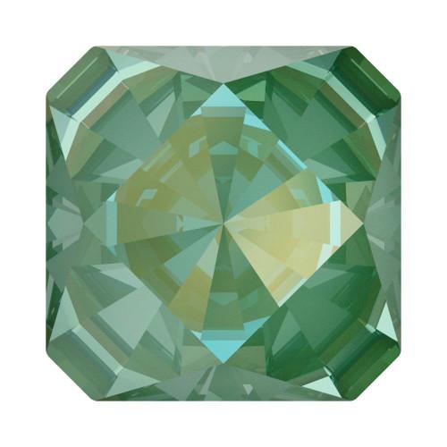 Swarovski 4499 6mm Kaleidoscope Square Fancy Stones Crystal Silky Sage Delite