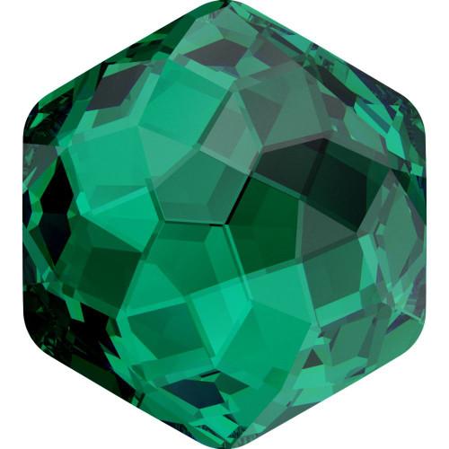 Swarovski 4683 10mm Fantasy Fancy Stones Emerald