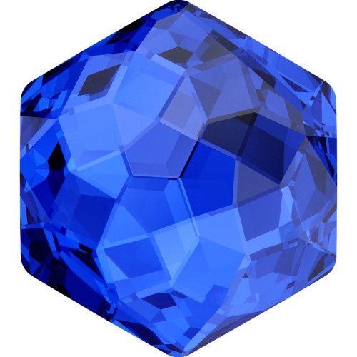 Swarovski 4683 10mm Fantasy Fancy Stones Majestic Blue