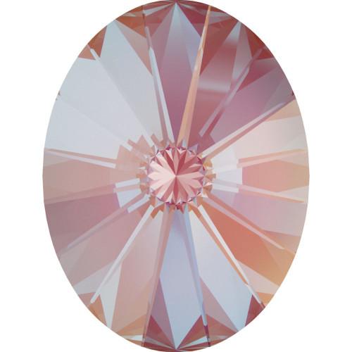 Swarovski 4122 8mm Oval Rivoli Fancy Stones Crystal Lotus Pink Delite