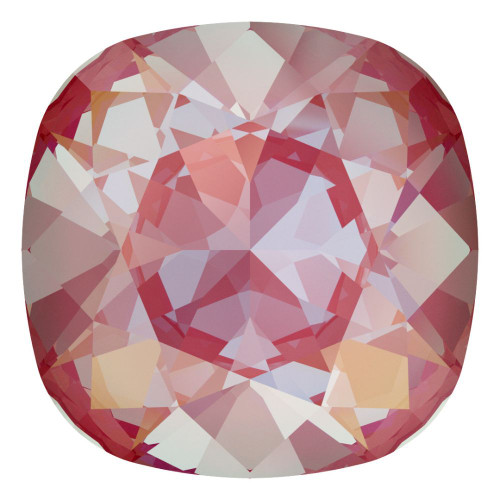 Swarovski 4470 10mm Cushion Fancy Stones Crystal Lotus Pink Delite