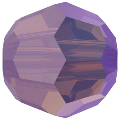Swarovski 5000 6mm Round Beads Cyclamen Opal Shimmer