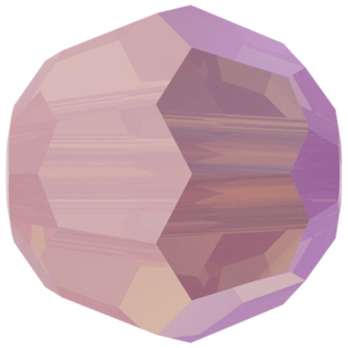 Swarovski 5000 6mm Round Beads Rose Water Opal Shimmer 2X