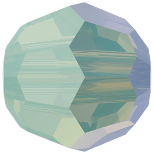 Swarovski 5000 8mm Round Beads Chrysolite Opal Shimmer