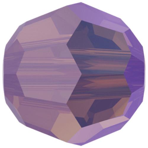 Swarovski 5000 8mm Round Beads Cyclamen Opal Shimmer
