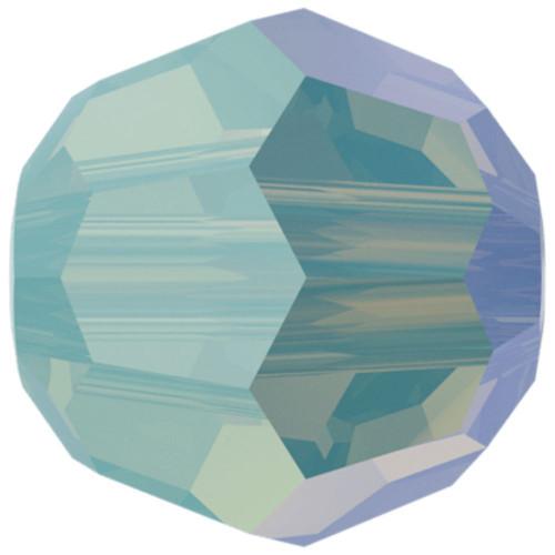 Swarovski 5000 8mm Round Beads Pacific Opal Shimmer